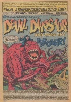 devil dinosaur #1 splash