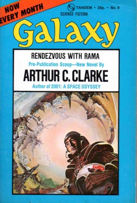The Golden Age of Science Fiction: Rendezvous with Rama by Arthur C. Clarke