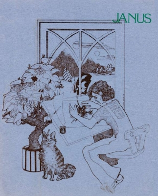 Janus 15, Cover by Jeanne Gomoll