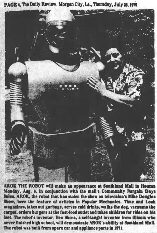 1979-07-26 Morgan City [LA] Daily Review 4 Ben Skora Arok illus
