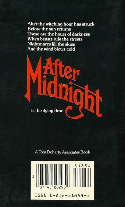 After Midnight Charles L Grant-back-small
