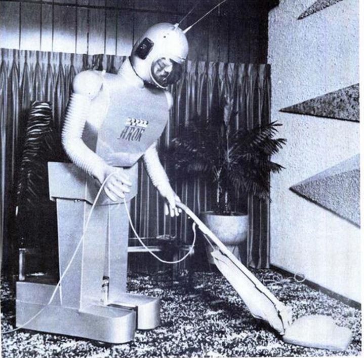 Arok vacuming shag carpet