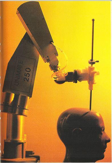 Arthur C. Clarke, July 20, 2019 robotic surgical arm