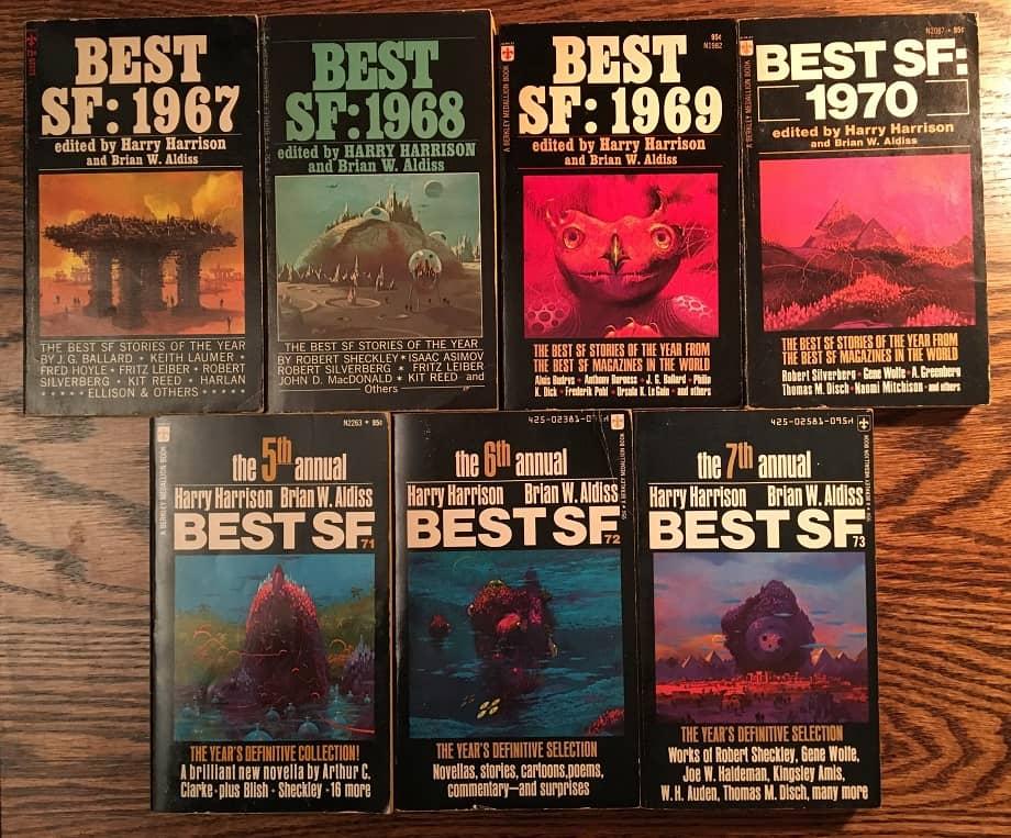 Best SF paperbacks Aldiss Harrison-small