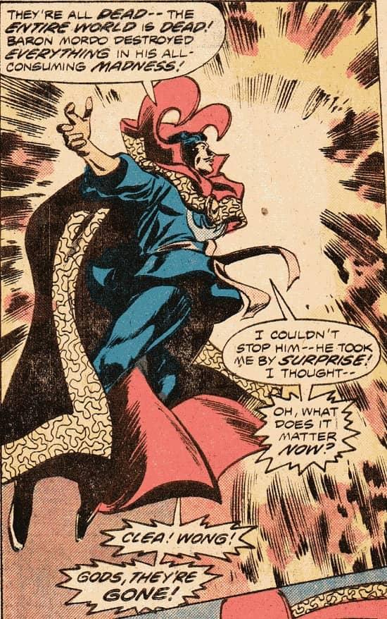 Doctor Strange Gene Colan-small