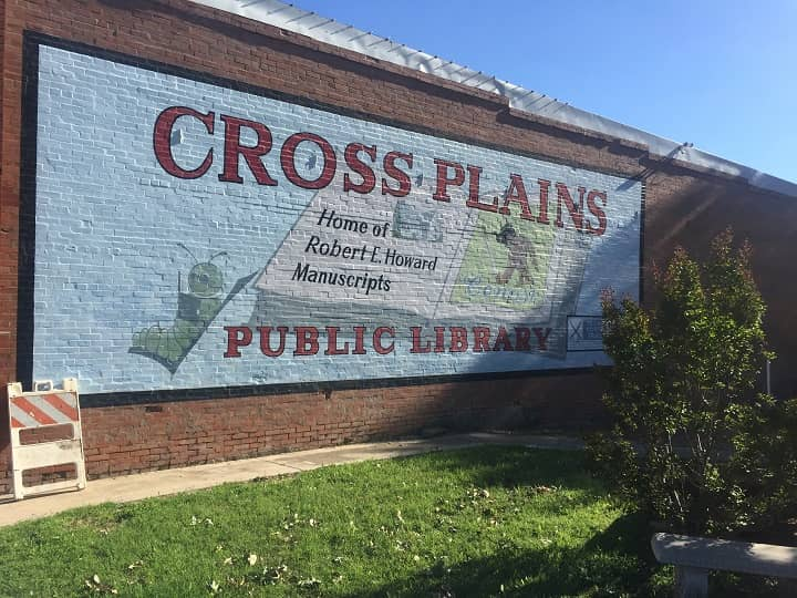 Howard Days 2019 Cross Plains sign-small