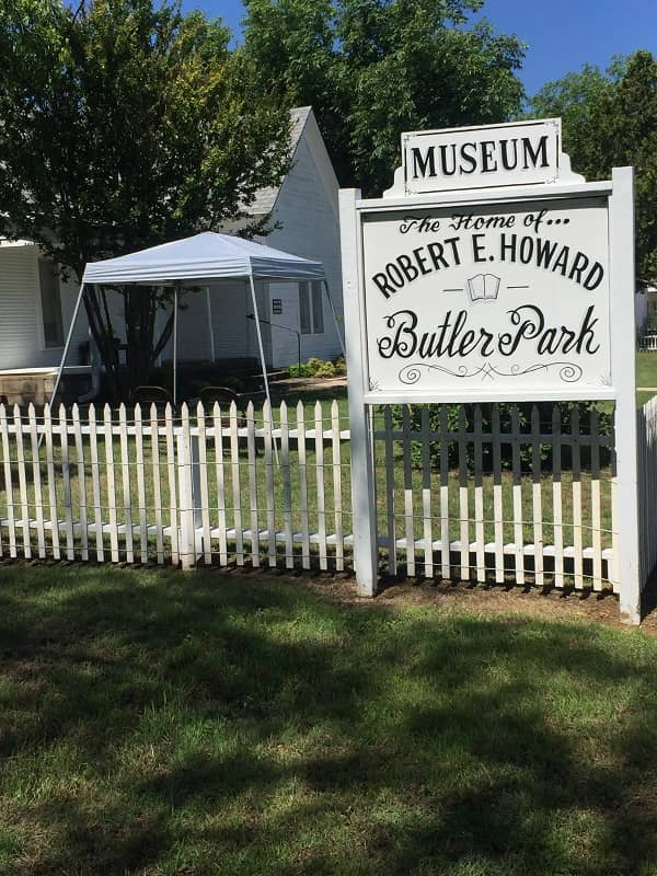 Howard Days 2019 Robert E Howard home-small