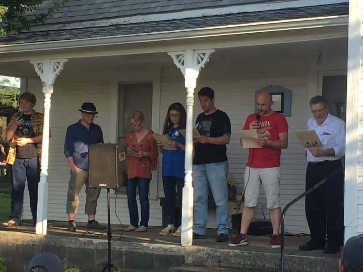 Howard Days 2019 poetry reading-small