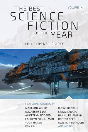 The Best Science Fiction of the Year Volume Four-small