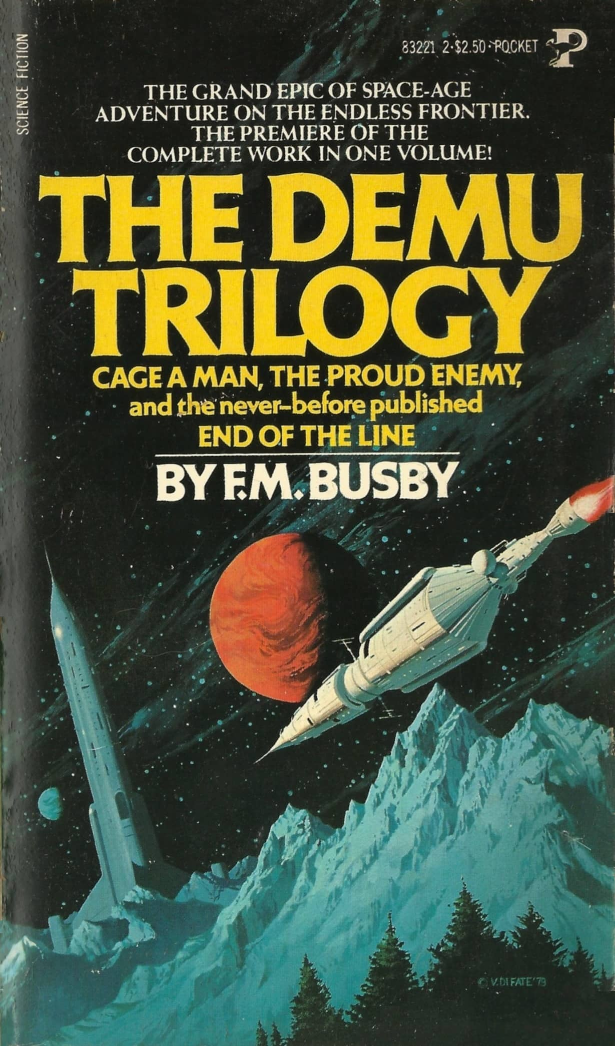 Vintage Treasures: The Demu Trilogy Omnibus by F.M. Busby