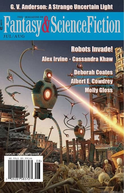 The Magazine of Fantasy & Science Fiction July August 2019-small