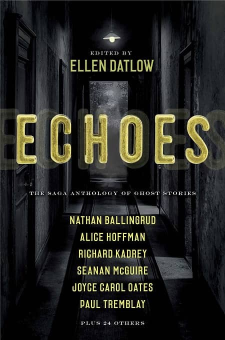 Echoes The Saga Anthology of Ghost Stories-small
