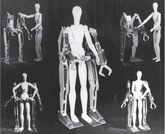 Hardiman prototype on dummies