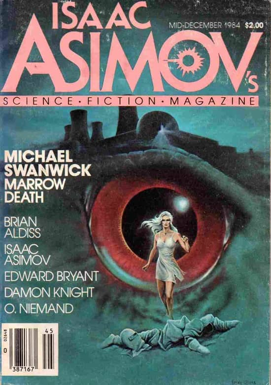 Isaac Asimov's Science Fiction Magazine Mid-December 1984-small