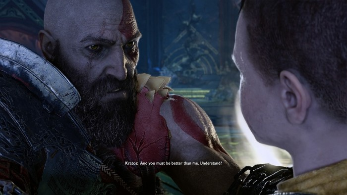 Kratos you must be better