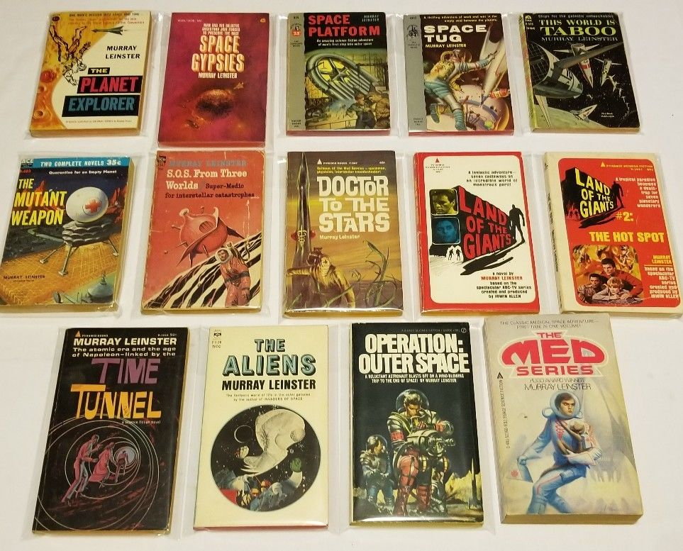 Murray Leinster paperback lot