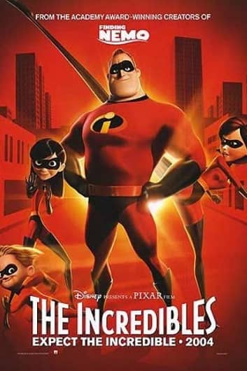 The Incredibles poster-small