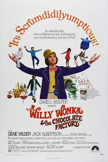 Willy Wonka and the Chocolate Factory poster-small