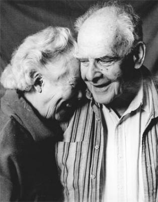 Betty and Ian Ballantine