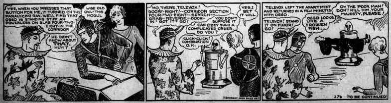 1929-12-07 Fremont [OH] News-Messenger 8 Buck Rogers televox