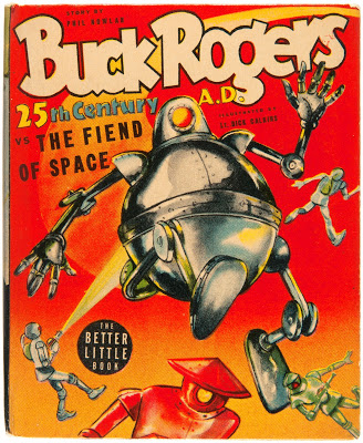 Buck Rogers v the Fiend From Space (cover)
