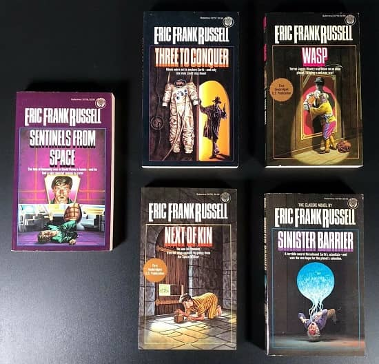 Eric Frank Russell vintage paperbacks-small