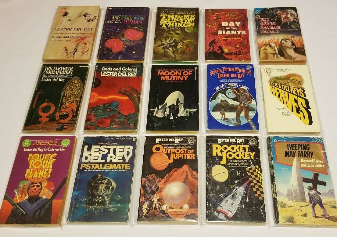 Lester del Rey's many SF novels