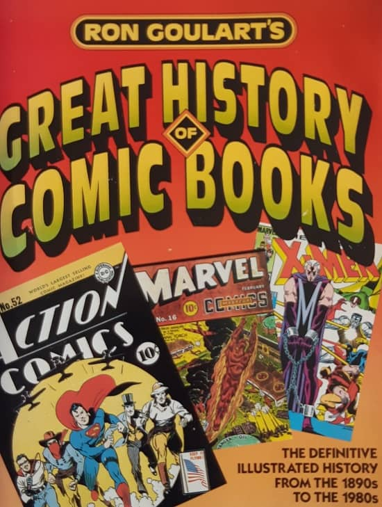 Ron Goulart's Great History of Comic Books cover-small
