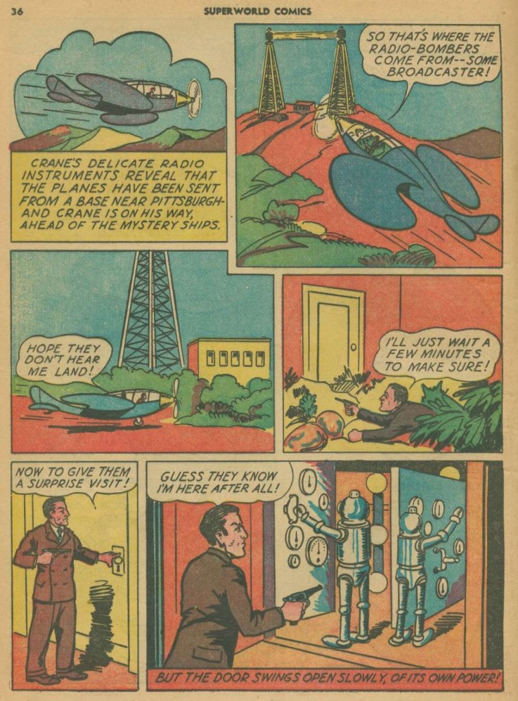 Superworld Comics #3, Aug 1940 Detective Crane 3
