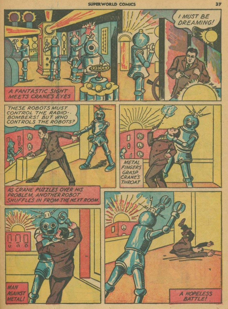 Superworld Comics #3, Aug 1940 Detective Crane 4