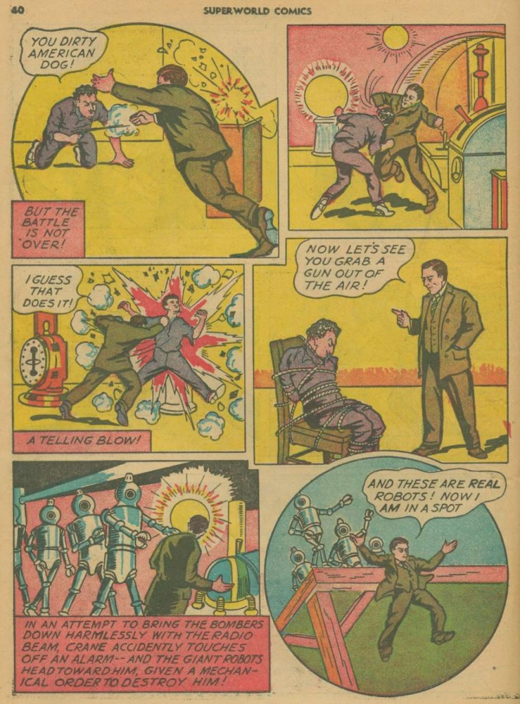 Superworld Comics #3, Aug 1940 Detective Crane 7