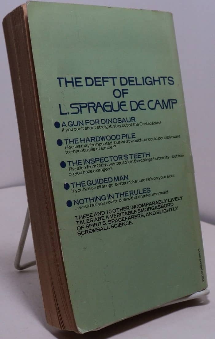 The Best of L. Sprague De Camp-back-small