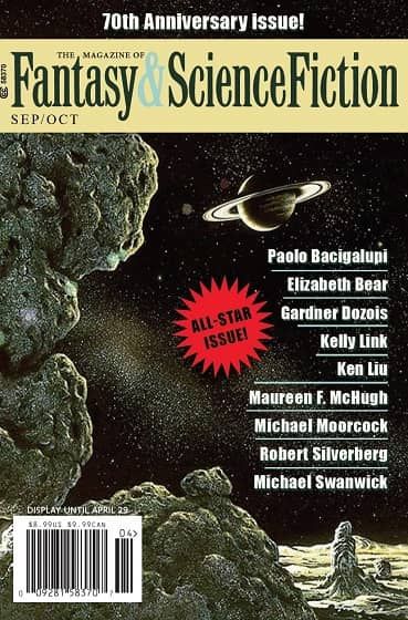 The Magazine of Fantasy & Science Fiction September October 2019-small