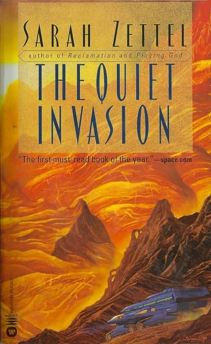 The Quiet Invasion Sarah Zettel-small