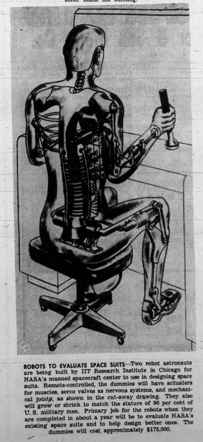 1964-01-10 Jasper [IN] Herald 6 NASA space robot illus