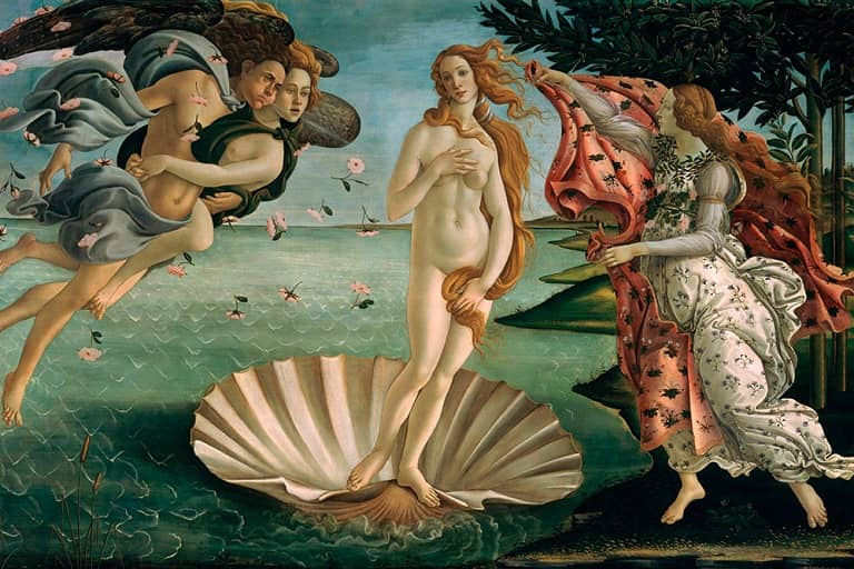 (3) The Birth of Venus-small