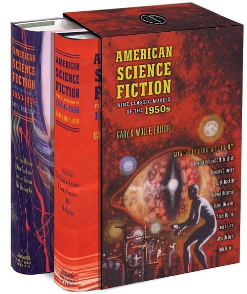American Science Fiction Nine Classic Novels of the 1950s-small