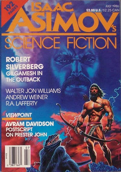 Asimov's Science Fiction July 1986