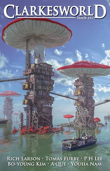 Clarkesworld 157 October 2019-small