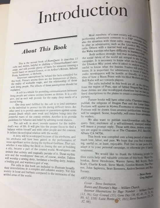Cults of Prax 1979 Introduction-small