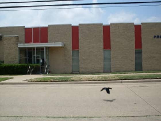 Dallas book and magazine distributor building