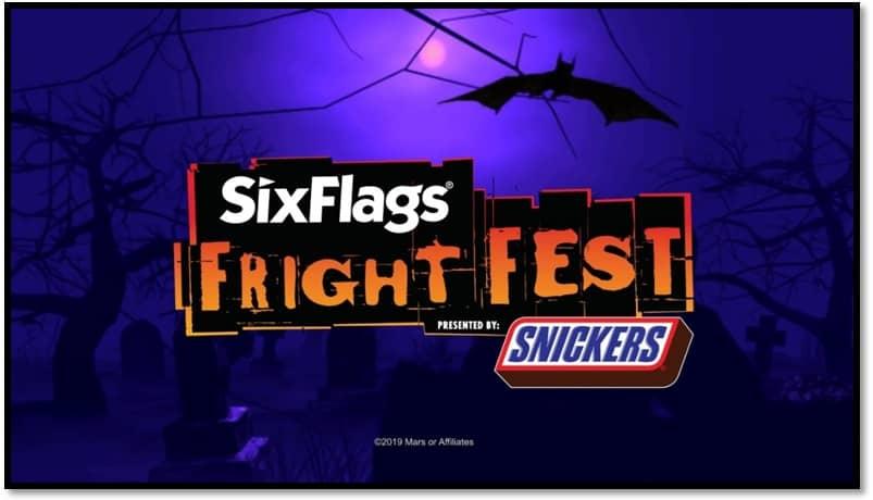 Goth Chick 2019 Six Flag Fright Fest