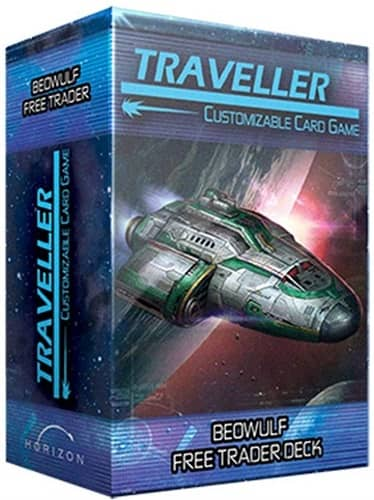 Traveler CCG Ship Deck Beowulf Free Trader-small
