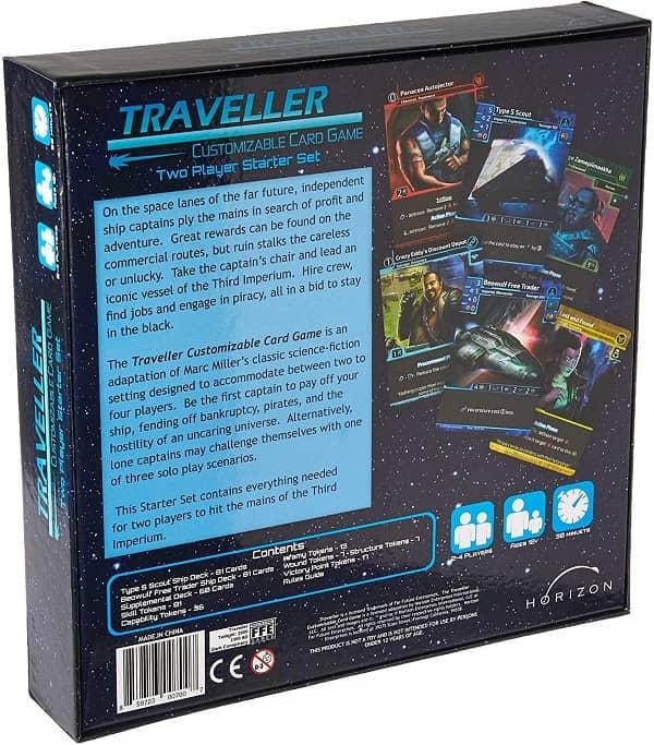 Traveler CCG Two Player Starter Set-back-small