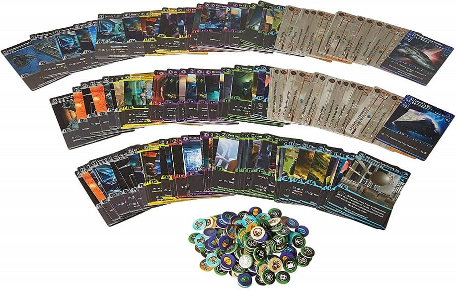 Traveler CCG Two Player Starter Set-contents-small