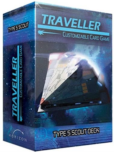 Traveller CCG Ship Deck Type S Scout-small