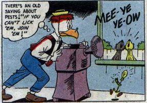 Uncle Scrooge #15, Sept.-Nov. 1956 Gyro 4 panel 3