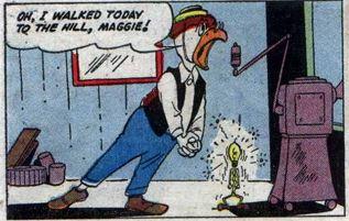 Uncle Scrooge #15, Sept.-Nov. 1956 Gyro 4 panel 5