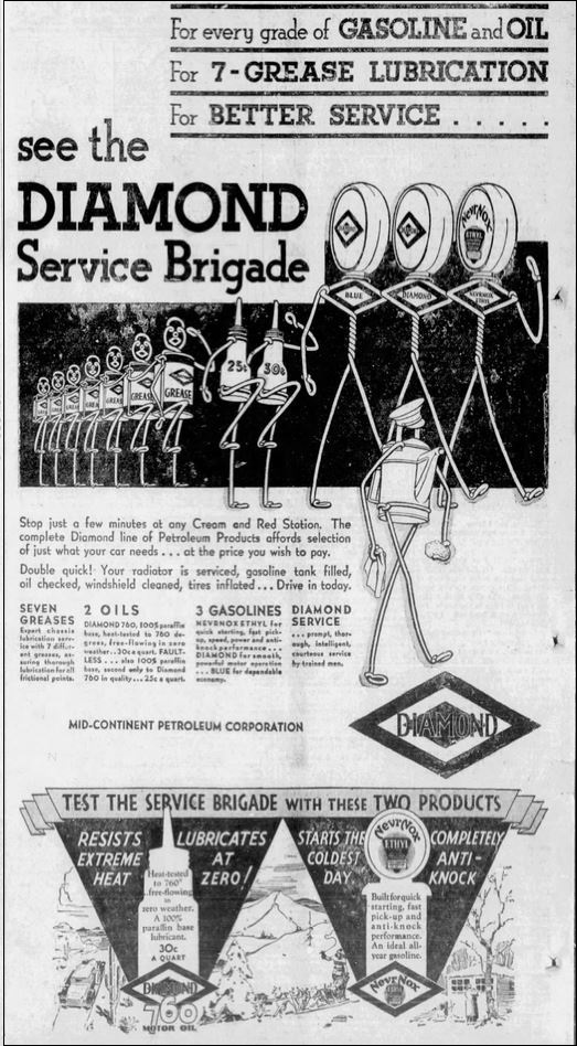 1931-10-08 Seminole [OK]Morning News 8 Diamond Service Brigade