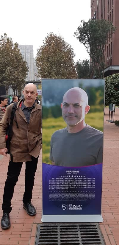 Derek Kunskun at the 5th International SF Conference in Chengdu 2019-small